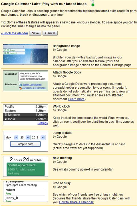 google-calendar-labs