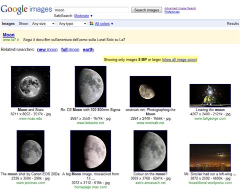 Nuove opzioni per filtrare i risultati su Google Immagini