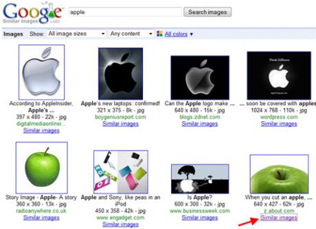 Google Similar Images facilita la ricerca di immagini