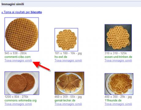 Trova immagini simili è attivo per tutti nella ricerca immagini di Google