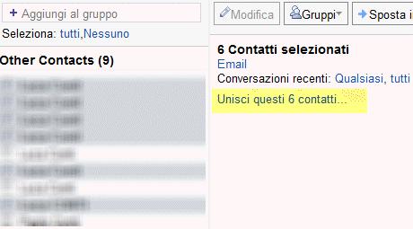 Gestire i contatti duplicati su Gmail